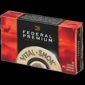 Federal Cartridge Vital-Shok Medium Game .270 Winchester Short Magnum Trophy Copper, 130 Grain (20 Rounds) - P270WSMTC1