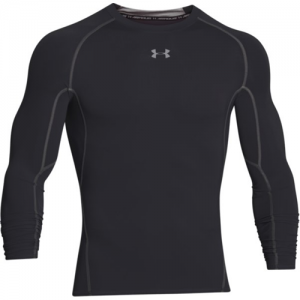 Under Armour HeatGear Men's Undershirt in Black - Large