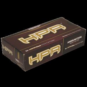 HPR Ammunition High Precision Range Rifle .223 Remington/5.56 NATO Boat Tail Hollow Point Match, 75 Grain (50 Rounds) - 223075BTH
