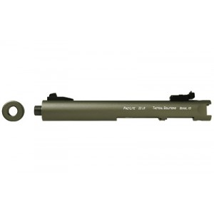 "Tactical Solutions Pac-lite, Threaded Barrel, Fits Ruger Mark I, Ii, Iii And 22/45 Series Pistols, 4.5"", Od Green Pl4.5tenf-04"