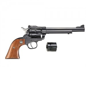 """Ruger Single Six.22 Long Rifle 6-Shot 6.5"""" Revolver in Blued - 10622"""