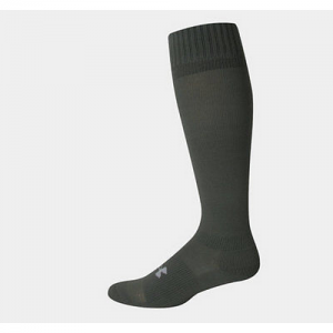 UA Men's HeatGear Boot Sock Color: Foliage Green Size: Medium
