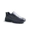 Dickies - Men's Slip Resisting Athletic Slip-On Work Shoes Color: Black Size: 10.5