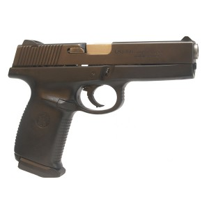 "Pre-Owned Smith & Wesson Model SW9F 9mm Luger (Parabellum) Semi-Automatic Pistol witrh 4.5"" Barrel, 17+1 Capacity and Factory Checkered Grips"