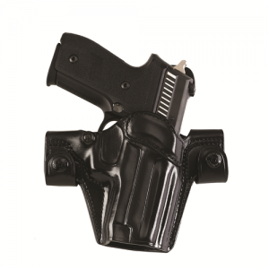 SSS Side Snap Scabbard (Gen 2) Color: Black Gun Fit: Sig-Sauer  P225 (P6) Hand: Right - SSR250B