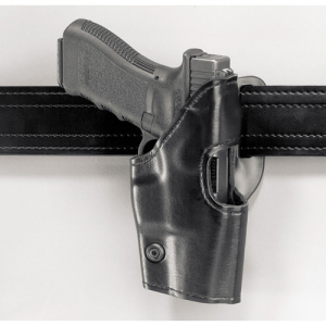 Safariland 295 Mid-Ride Level II Retention Right-Hand Belt Holster for Glock 17, 19 in Black - 295-83-91