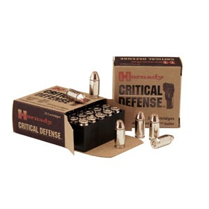 Hornady Critical Defense .380 ACP Flex Tip Expanding, 90 Grain (25 Rounds) - 90080