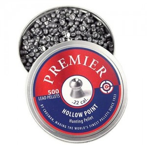 Crosman .22 Caliber Hollow Point Pellets/500 Pack LHP22
