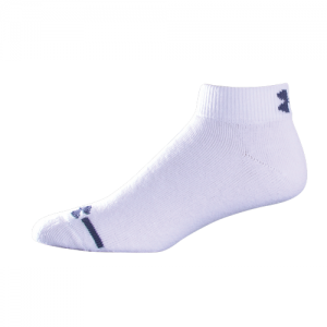 UA Charged Cotton LO CUT Color: White Size: Large
