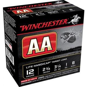 "Winchester AA .12 Gauge (2.75"") 7.5 Shot Lead (250-Rounds) - AAHLA127"