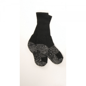 SOCKS, BLK TACTICAL PERFORMANCE 6 , L