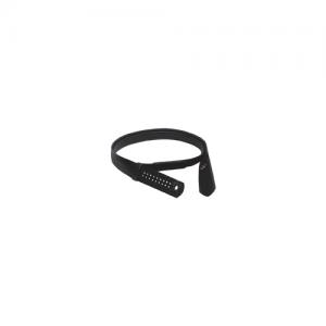 Boston Leather Reversible Garrison Sam Browne Inner Belt in Black Plain - Medium