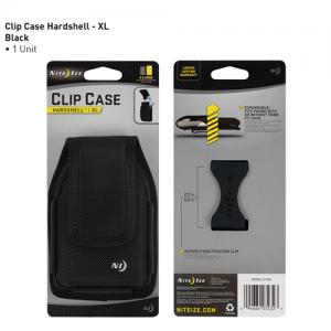 Clip Case Hardshell Holster Color: Black Size: XL