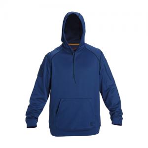 5.11 Tactical Diablo Men's Pullover Hoodie in Cobalt Blue - 2X-Large