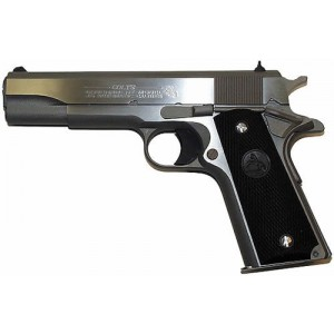 """Colt Government .38 Super 9+1 5"""" Pistol in Stainless - O2091"""