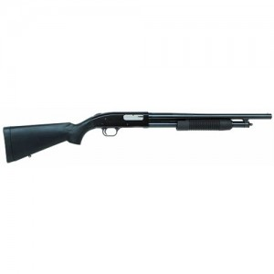"Mossberg 500 Persuader .12 Gauge (3"") 5-Round Pump Action Shotgun with 18.5"" Barrel - 54125"