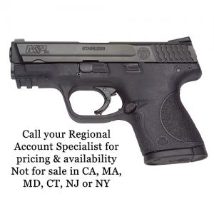 "Smith & Wesson M&P Compact 9mm 12+1 3.5"" Pistol in Black Melonite (LE) - 309704"