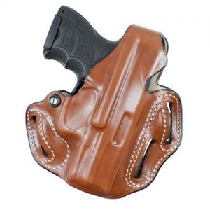 Thumb Break Scabbard Belt Holster Color: Black Finish: Plain Unlined Gun Fit: H&K P30SK Hand: Right - 001BA5CZ0