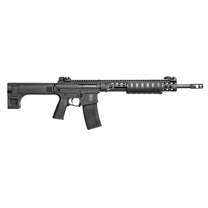 """Troy Industries AAC .300 AAC Blackout 10-Round 16"""" Pump Action Rifle in Black - SPARS3A18BT"""