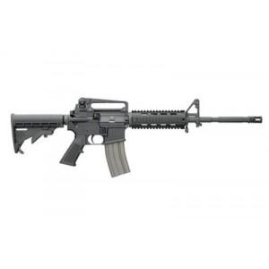 "Bushmaster XM-15 Patrolman's .223 Remington/5.56 NATO 30-Round 16"" Semi-Automatic Rifle in Black - 90831"