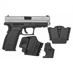"Springfield XD Service .40 S&W 10+1 4"" Pistol in Stainless Slide/Black Frame - XD9302SP06"