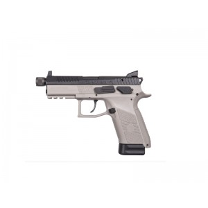 "CZ P-07 9mm 15+1 3.7"" Pistol in Urban Grey (Threaded Barrel, Night Sights) - 91288"