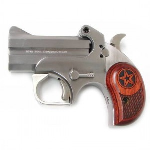 "Bond Arms Texas .357 Remington Magnum 2-Shot 3"" Derringer in Satin Stainless (Defender) - BATD"