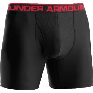 "Under Armour BoxerJock 6"" Men's Underwear in Black - Small"