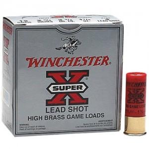 "Winchester Super-X High Brass Game .12 Gauge (2.75"") 5 Shot Lead (250-Rounds) - X125"