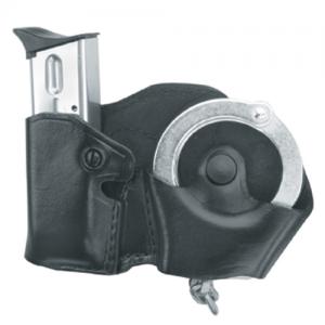 Gould & Goodrich Cuff Case/Magazine Case Combo Magazine/Handcuff Holder in Black - B821-3