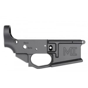 Midwest Industries Billet Lower, Semi-automatic, 556nato, Black Finish, Made From 6061 Aluminum Mi-bl
