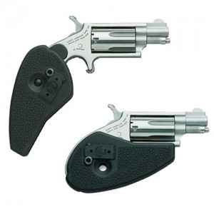 """North American Arms Mini-Revolver .22 Long Rifle 5-Shot 1.12"""" Revolver in Matte Stainless - HGMSC"""