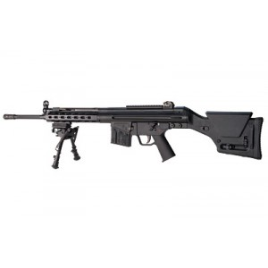 """PTR91 PTR-91 MSG .308 Winchester 20-Round 18"""" Semi-Automatic Rifle in Black - PTR106"""