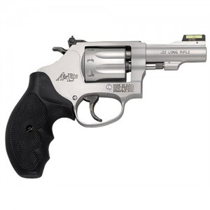 """Smith & Wesson 317 .22 Long Rifle 8-Shot 3"""" Revolver in Stainless (Kit Gun) - 160221"""