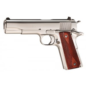 """Colt 1991 .38 Super 9+1 5"""" 1911 in Bright Stainless Steel (Series 80) - O2071ELC2"""