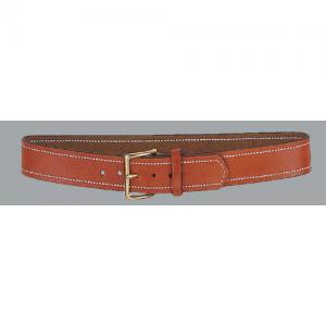 Desantis Gunhide Lined Dress Belt in Black Plain - 36
