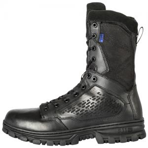 EVO 8  Waterproof Boot with Side Zip Color: Black Size: 13 Width: Wide