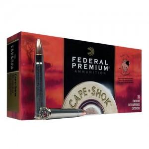Federal Cartridge Cape-Shok Dangerous Game .370 Sako Magnum Nosler Partition, 286 Grain (20 Rounds) - P370B