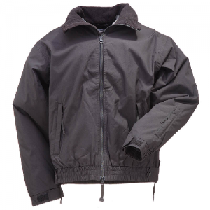 5.11 Tactical Big Horn Men's Full Zip Jacket in Black - Small