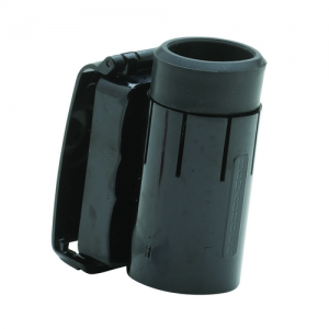 SX-24 Front Draw Swivel  Made from durable polycarbonate, all Front Draw holders feature a molded tension spring for baton security. The design is comfortable to wear and offers a quick draw from any position.The holder rotates in 360 degrees and locks in