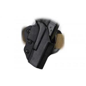 Desantis Gunhide 42 Facilitator Right-Hand Belt Holster for Glock 19, 23 in Black Kydex - 042KAB6Z0