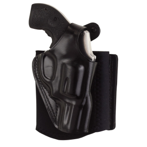 """Galco International Ankle Glove Right-Hand Ankle Holster for Glock 43 in Black (3.3"""") - AG800"""