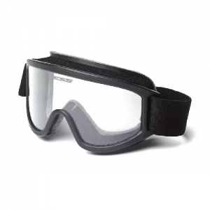 Tactical XT (Black) - Goggle includes 40mm strap, 2.6mm Clear lens