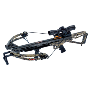 Carbon Express 20263 Covert CX-3 SL Crossbow 355 FPS 4x32mm Scope Camo