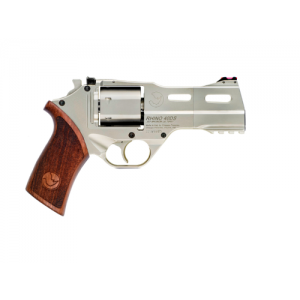 "Chiappa Rhino 40DS .357 Remington Magnum/.38 Special 6+1 4"" Pistol in Hard Chrome - CF340.245"