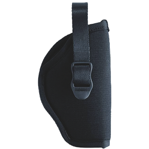 "Blackhawk Sportster Right-Hand Belt Holster for Medium/Large Double Action Revolver in Black (3"" - 4"") - B990216BK"