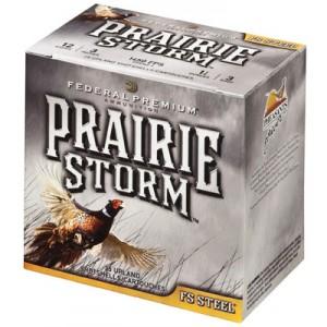 "Federal Cartridge Prairie Storm FS FS Steel .12 Gauge (3"") 3 Shot Steel (250-Rounds) - PFS143FS3"