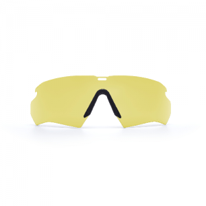 Crossbow Lens Hi-Def Yellow - 2.4mm interchangeable lens & nosepiece. ClearZone dual lens coatings maximize scratch resistance on the outside & fog resistance on the inside