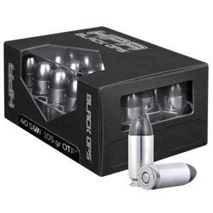 HPR Ammunition BlackOps .40 S&W Open Tip Frangible, 105 Grain (20 Rounds) - 40105OTF