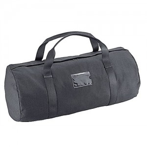 Uncle Mike's Compact Duffel Bag in Black 600D Woven Fabric - 5244